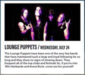 Photo of Lounge Puppets