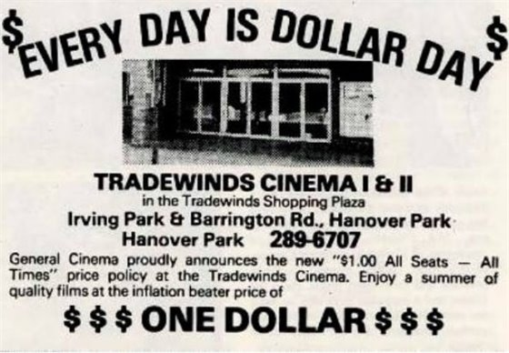 article about Tradewinds cinema