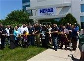 NEFAB ribbon cutting photo