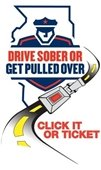 Drive Sober or get pulled logo