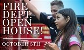 Fire Department Open House Flyer