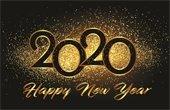 2020 Happy New Year graphic