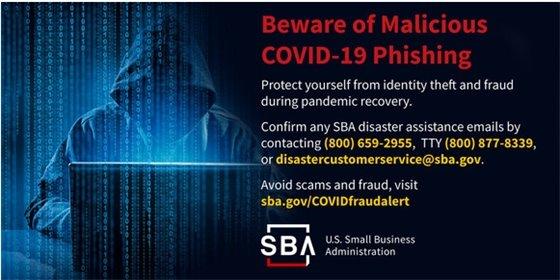 covid phising info