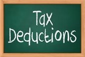 Tax Deductions graphic image