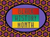 Black History Month graphci