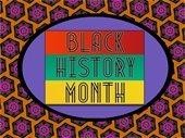 Black History Month graphci