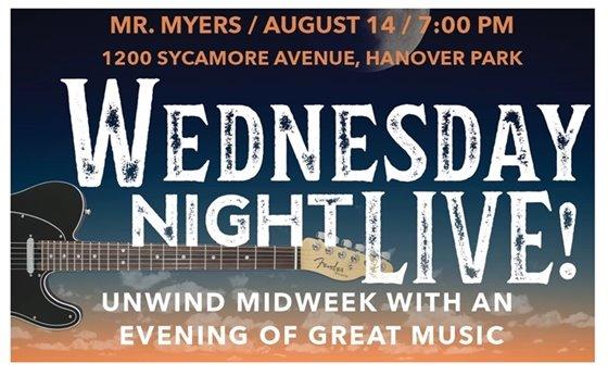 Wednesday Night Live Flyer