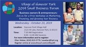 2019 Village of Hanover Park Small Business Forum
