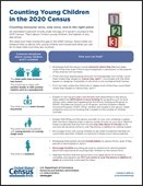Census infogram on counting children