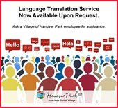 Language Translation Flyer