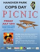 Photo of Cops Day Picnic Flyer