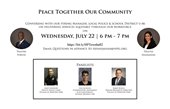 Peace Together our Community Flyer