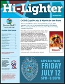 Photo of the cover of the Hi-Lighter July/August 2019