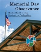 Memorial Day Observance graphic