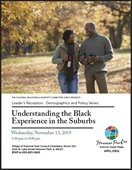 Understanding the Black Experience in the Suburbs Flyer