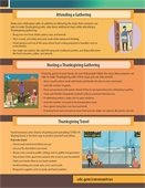 Thanksgiving Safety graphic