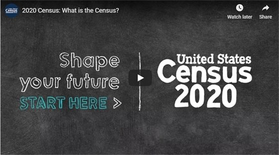 2020 Census Video Slide