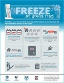 winter freeze tips infograph