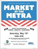 Market at the Metra Flyer