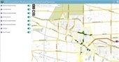 GIS restaurant map