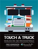 Touch A Truck graphic