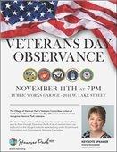 Veterans Day Observance Flyer
