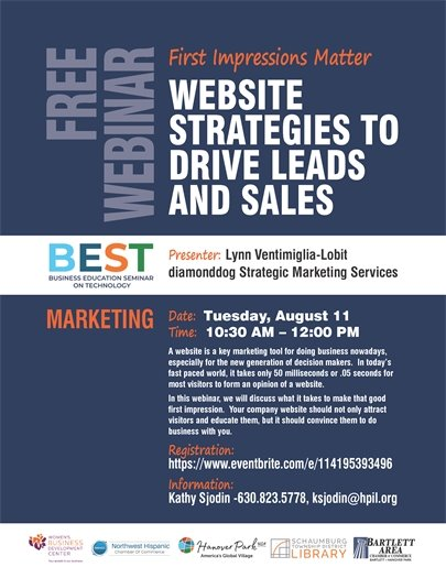 August 11, 2020 BEST - Website strategies to drive leads and sales
