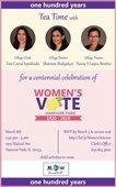 Womens Vote Flyer