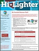 Photo of the cover of the Hi-Lighter March April 2020 edition