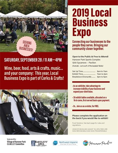 2019 Local Business Expo Flyer