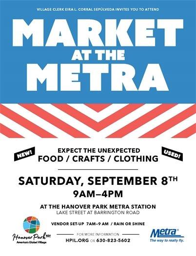 Market at the Metra