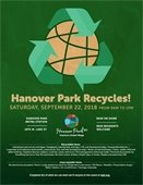 Hanover Park Recycles flyer