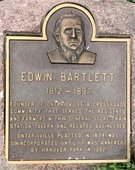 Edwin Bartlett Plaque