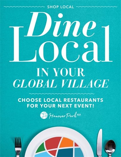 Dine Local Poster