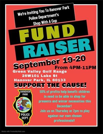 HPPD Fundraiser Flyer