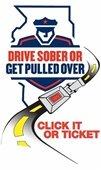Drive Sober or get Pulled Over Logo