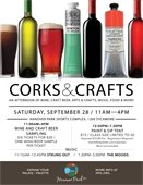 Corks & Crafts Flyer