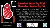 Chamber Steak Fry Flyer