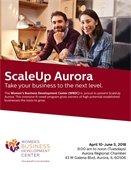 Scale Up Aurora Flyer