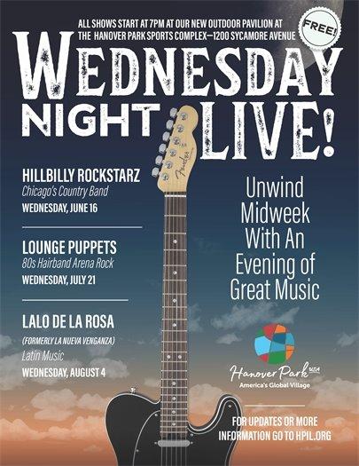Wednesday Night Music Poster