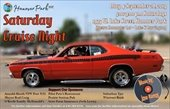 Saturday Cruise Night Flyer