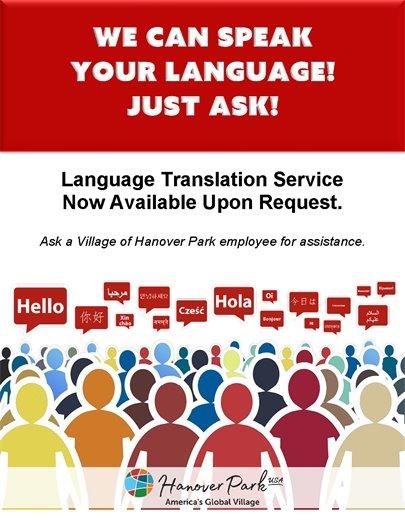 Language Translation Service Flyer