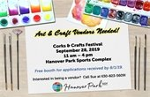 Corks and Crafts Vendor Ad