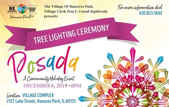 2019 Tree Lighting Flyer