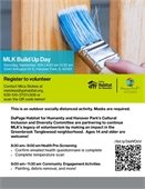 MLK Build Up Day Flyer