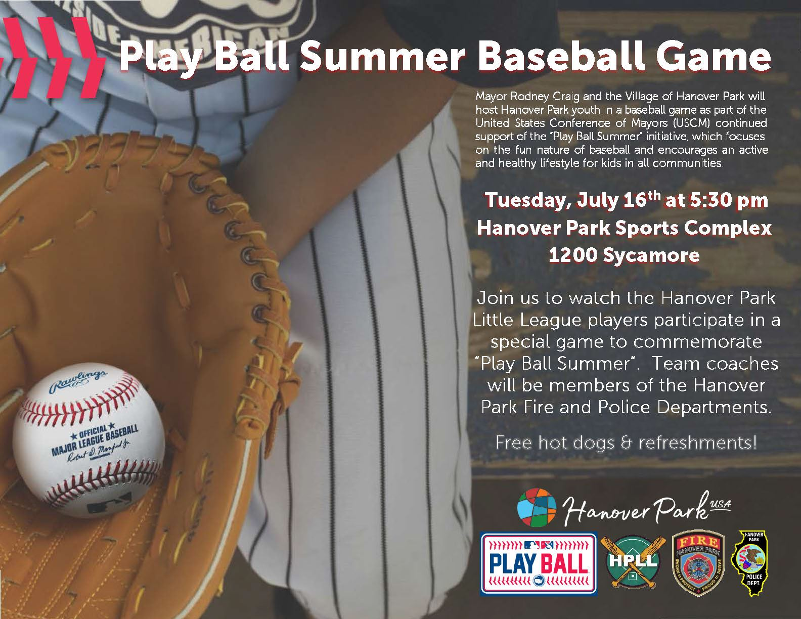 2019 Play Ball Summer Game 2018 Flyer
