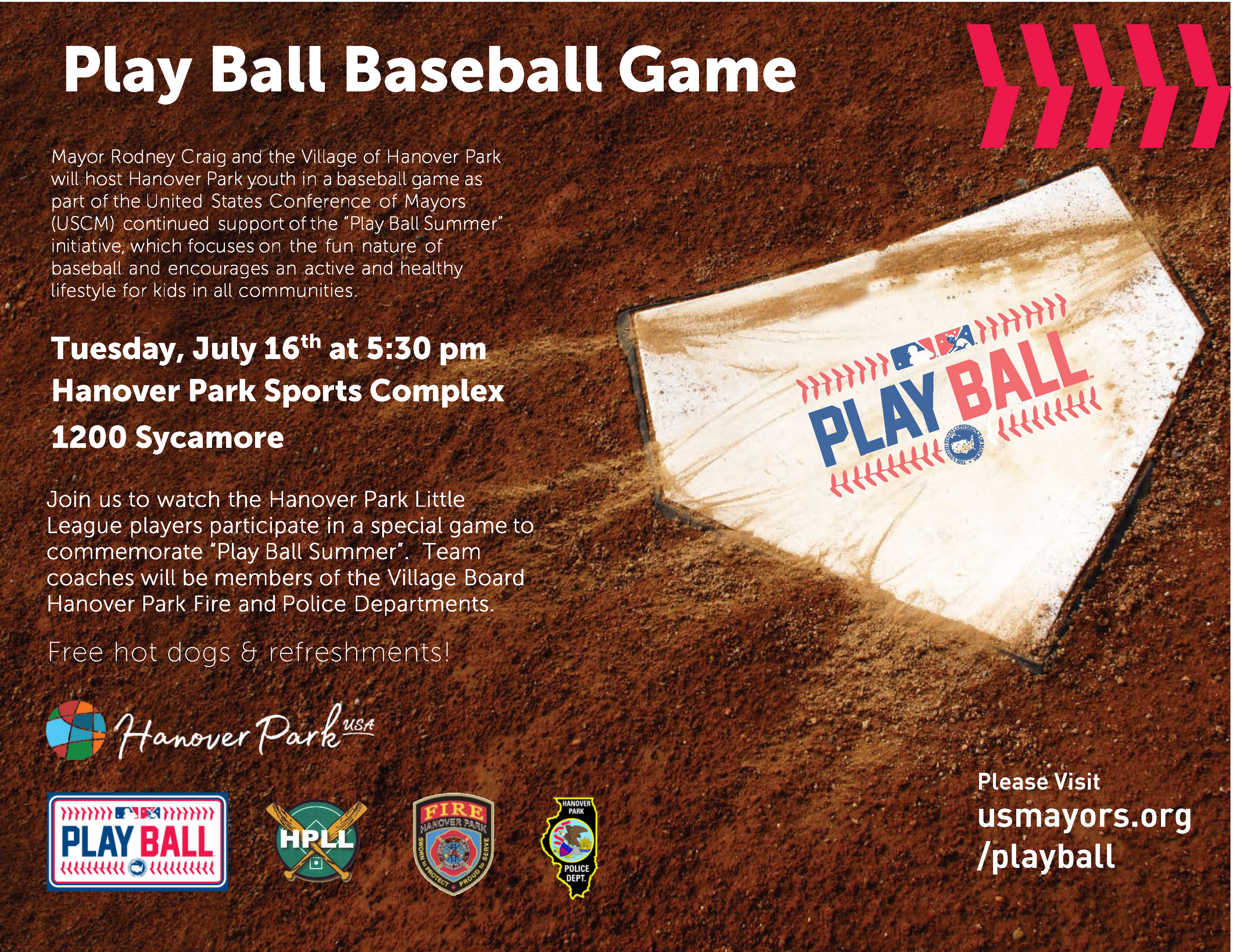 2019 FINAL Play Ball Summer Game 2018 Flyer
