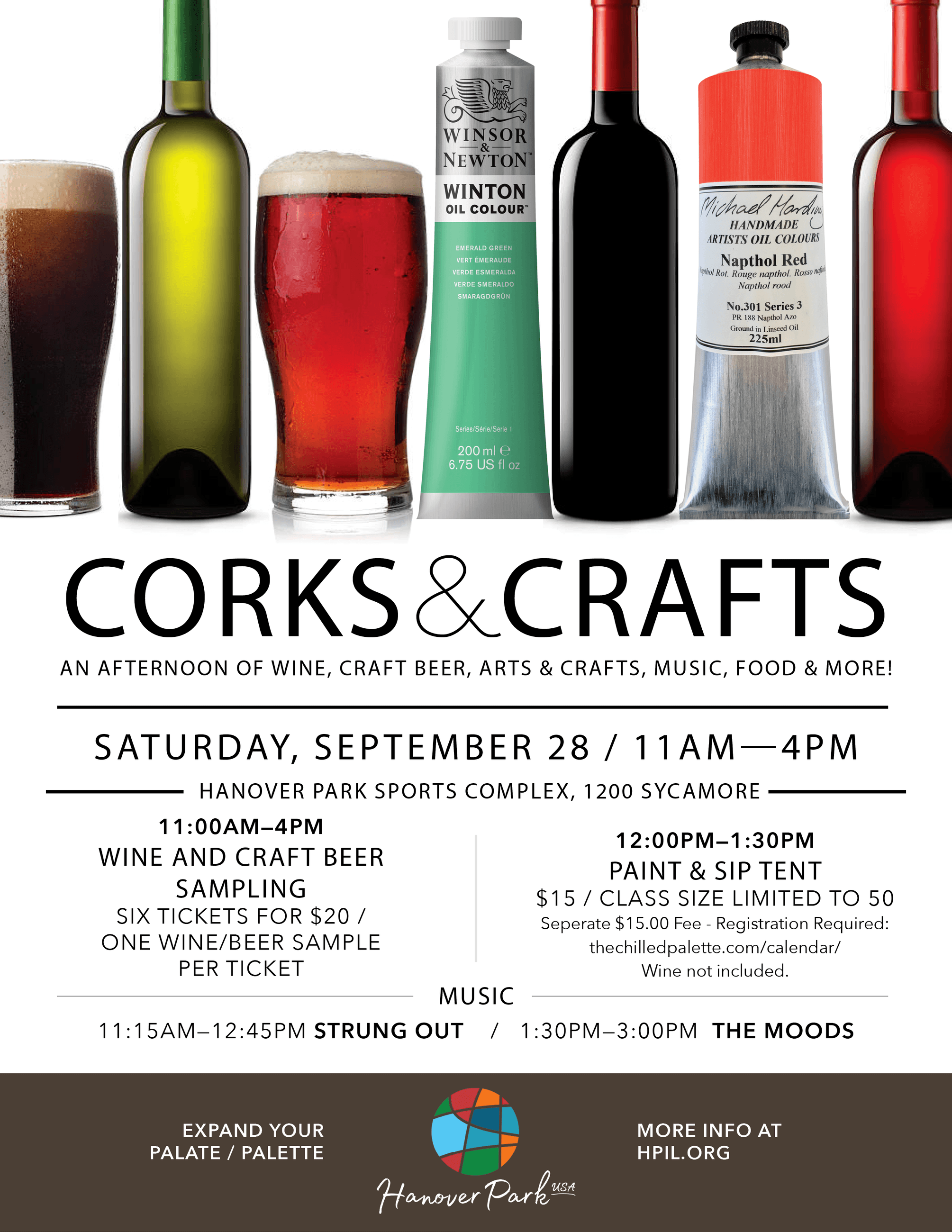 High Resolution pic of Corks and craft flyer