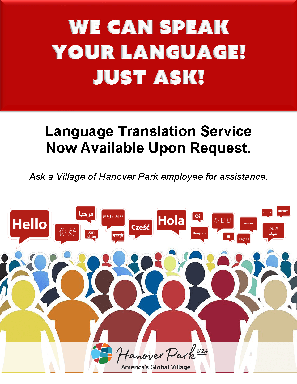 Language Translation Service Flyer