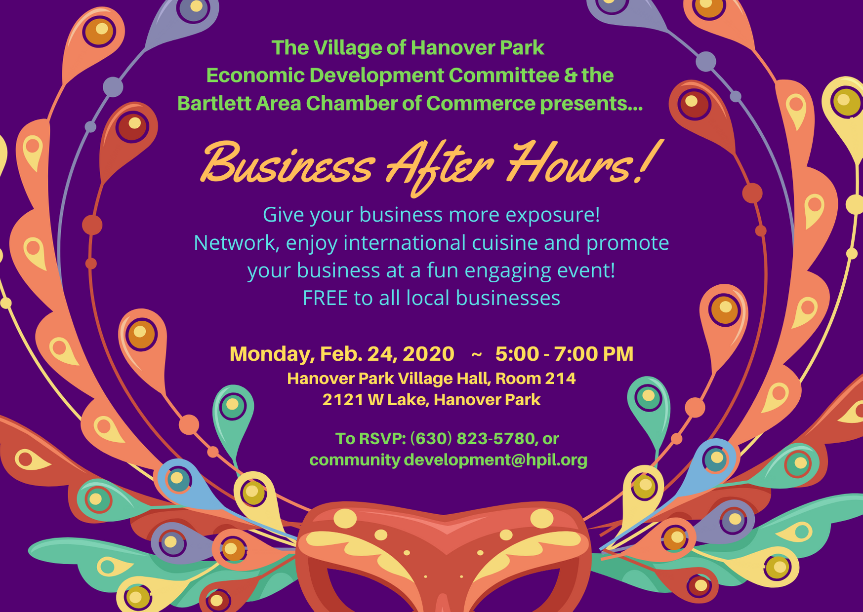 Business After Hours Invitation